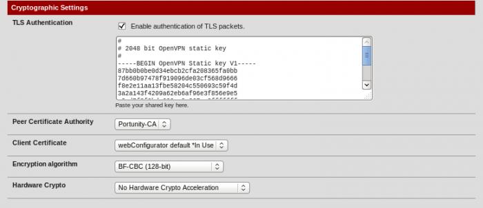 OpenVPN-Tunnel (IPv4) mit pfSense 2 1 (Anleitung