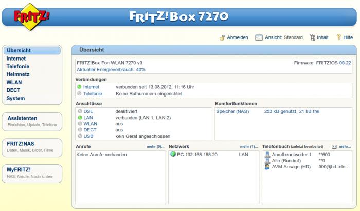 Internet-Telefonie (VoIP) mit FRITZ!Box Fon WLAN 10 einrichten