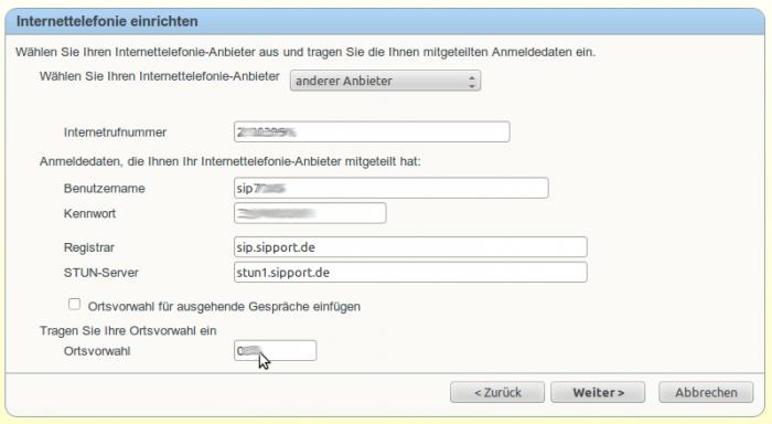 Internet Telefonie Voip Mit Fritz Box Fon Wlan 7270 Einrichten