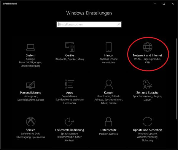 L2TP-Tunnel unter Windows10 einrichten (Anleitung