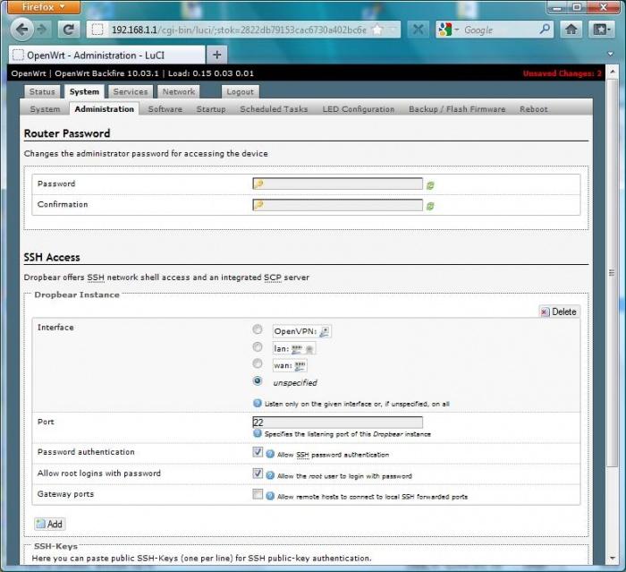OpenVPN-Tunnel (IPv4) auf einem OpenWRT Router einrichten